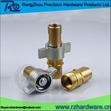 Precision fabrication service for hydraulic connecter