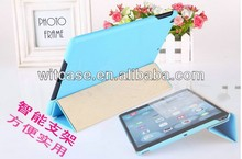 New Craft Handmade Smart Leather Case for Apple ipad air For ipad 5 Case