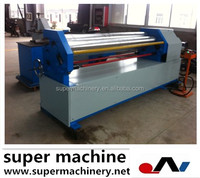 asymmetrical plate rolling machine W11F series for sale,knitted fabric inspection and rolling machine