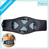 2016 newest arrival Christmas gift vibrating adjustable TENS electric slim belt body building slim massager belt for weight loss