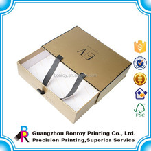 High end finished cardboard durable clothes box