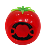 Cute Tomato Shaped Juicy Base Sounds 1.5W MInI Matobyte Speaker for your Android/Apple Mobiles