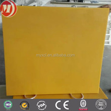 Extremely tough Eco Lift outrigger pads for small to mid sized equipment,uhmwpe square crane outrigger pad factory