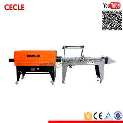Most popular shrink sealer with banner(usa)material induction switch up and down
