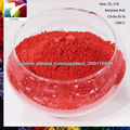 el rojo de cerámica