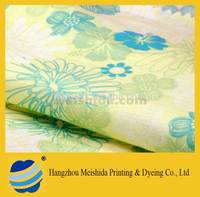 custom digital printing cotton lycra fabric