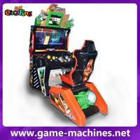 Bomb Racing Simulator Arcade car racing game seat machine download console for game center
