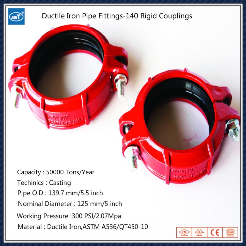 Fm ul ce ductile iron pipe fittings buy