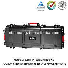 Military hard gun case for equipment
