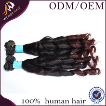 cheap weft hair extension syntetic hair