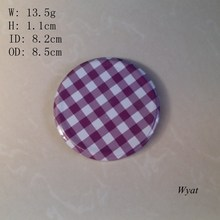 82mm round metal lid screw cap SLC27