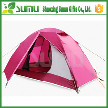 Top quality new design creative hot pink camping tent