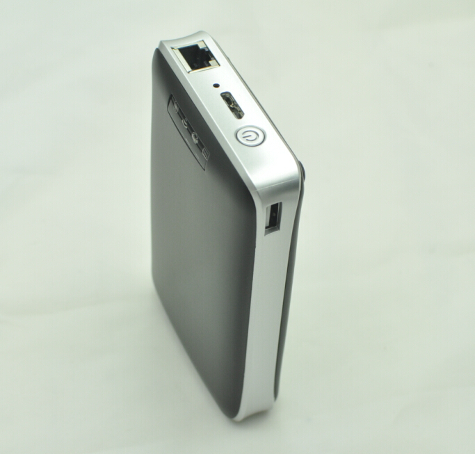 High Speed Wireless Hard Disk 500gb HDD External Hard drive with Wifi Router Function