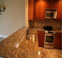 Giallo Fiorito Granite Bar Tops & Kitchen Tops