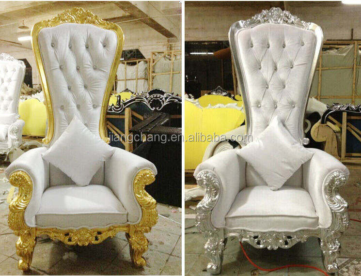 Silver Luxury Royal Throne Chairs For Sale Jc J92 Buy Silver Luxury Royal T