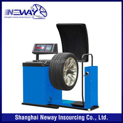 New arrival best quality both car and truck can used tire balancing equipment