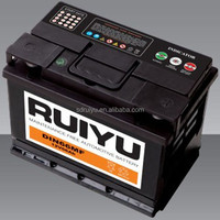 automobile battery 57539/57519/57531 DIN75 japan car battery