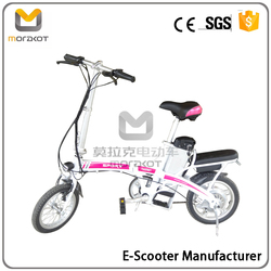2015 New Design Two-wheel 500W Lead-acid Batteries Electric Motorcycle For Cheap Sale J
