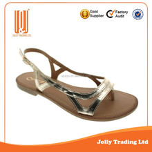 Shoe manufacturer flats sandal latest sandals for women