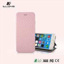 5 Colors Stripe TPU Flip Case For iPhone 6 Plus,PU Leather Flip Case For iPhone6 Plus