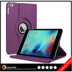 Keno 360 Rotating Stand Flip PU Skin Cover Case For Apple iPad Pro