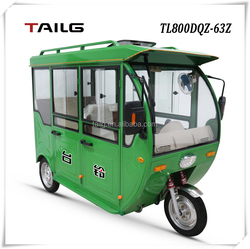 Dongguan Tailg 800w strong power electric passager tricycle three wheels adult electric motorcycle