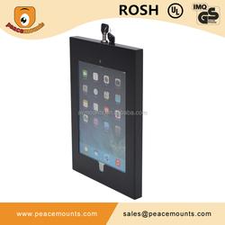 Customized Available Lockable Secure Laptop Protective SPCC Metal Tablet PC Case Enclosure For 7-14 Inch PC