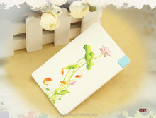 New originality Super slim 2000mAh portable charger with dual output portable charger made in China