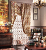 American Style Countryside Chenille Curtain with with High quality Jacquard