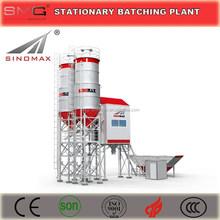 CE Certification 25m3/h - 75m3/h Stationary Concrete Batching Plant