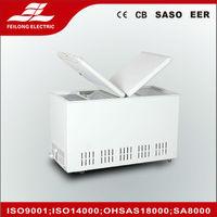 190L/210L/260L folding double door freezer with CE,CB