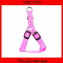 High Quality LED Dog Collar LED Dog Leash And LED Dog Harness Wholesale