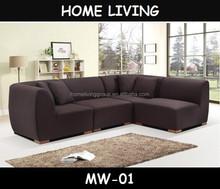 2015 Sectional L shaped corner sofa for living room
