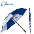 venta al por mayor de fábrica personalizada resistente al viento paraguas