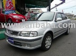 2002 second hand cars NISSAN Sunny /Sedan/RHD/37806km/Gasoline/1500cc