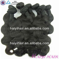 Factory Wholesale Unprocessed Hair/jerry curl human hair weave