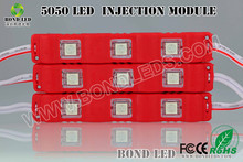 High brightness 5050 led module red color for advertising light box mini cooper prices