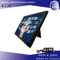 AIMTOUCH 21.5 inch Resistive advertising replacement 1920x1080 Touch Screen Monitor Taiwan
