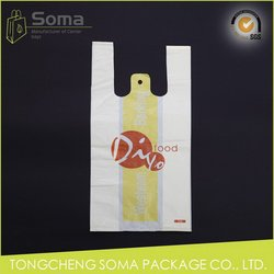 Low price classical folding shopping plastic bag