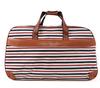 Stripe Travel Bag Wholesale Price Custom Printing