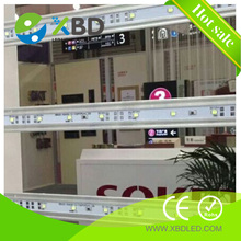 Discount CE/ROHS certificate modular curtain type backlight 5730 SMD LED rigid strip light bar with Aluminum profile/housing