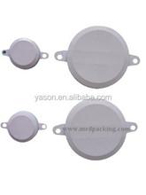 """200ml Drum Cap white color with rubber gasket(1 pair includes 1pcs 2"""" cap and 1pcs 3/4"""" cap)"""