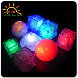 Water activated Led Ice Cubes Floating tea light cubes Light ice cubes for drinks