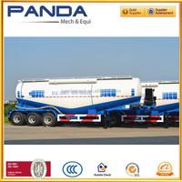 4102 weichai Diesel Engine Bulk Cement Semi Trailer with Turbo Air Compressor