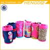 pink princess style cute children school water bottle thermal bag