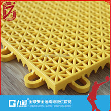 Outdoor Basketball Court Suspended Interlocking Flooring