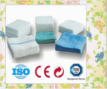 HOT SELL 2012!surgical disposable sterile cotton gauze swabs (different size is available)
