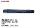 hierro frontal de parachoques para isuzu serie dmáx 2014