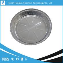 round aluminum disposable foil pot pie pan (FDA, SGS, HACCP, KOSHER certificate)