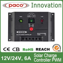USB charge controller for solar panel 6Amp 12v 24v outback solar charge controller